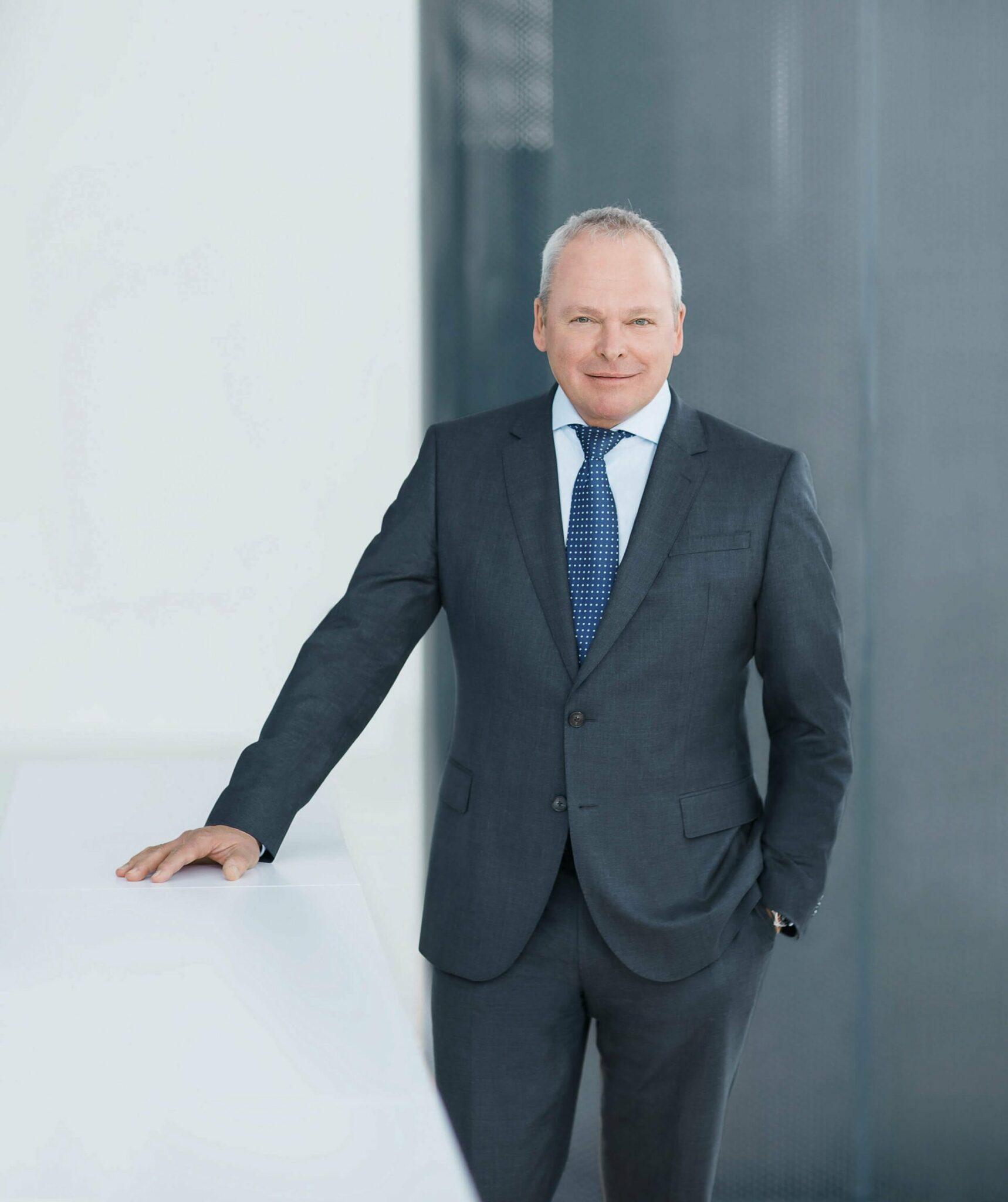 Portrait Voith-Vorstand Stephan Schaller