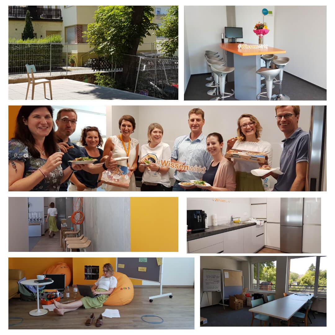 Das Team der Geschäftsstelle arbeitet nun in neuen Räumen.