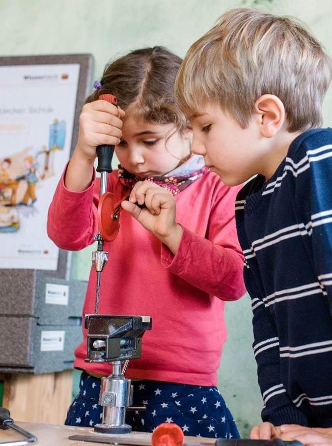 Gute MINT-Bildung beginnt schon im Kindergarten